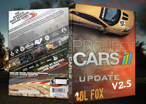 دانلود Update v2.5 بازی Project CARS برای PC