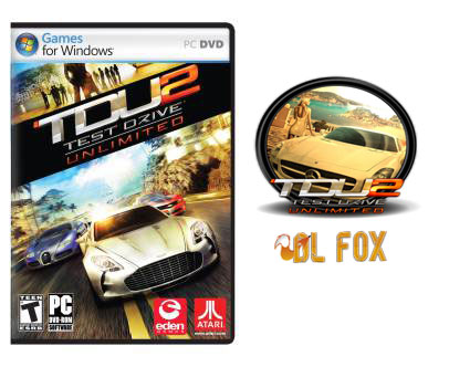 دانلود نسخه COMPLETE بازی TEST DRIVE UNLIMITED 2 برای PC