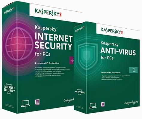 دانلود آنتی ویروس Kaspersky 2015 + KEY RESTART