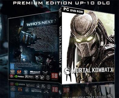 دانلود PREMIUM EDITION UP-10 DLC بازی MORTAL KOMBAT X