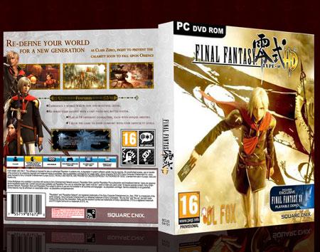دانلود بازی FINAL FANTASY TYPE 0 HD برای PC