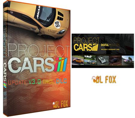 دانلود نسخه فول DLC+ UP بازی PROJECT CARS برای PC