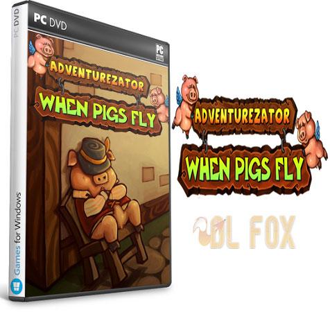 دانلود بازی ADVENTUREZATOR WHEN PIGS FLY برای PC