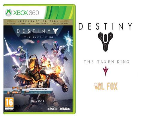 دانلود بازی Destiny The Taken King Legendary Edition برای XBOX360