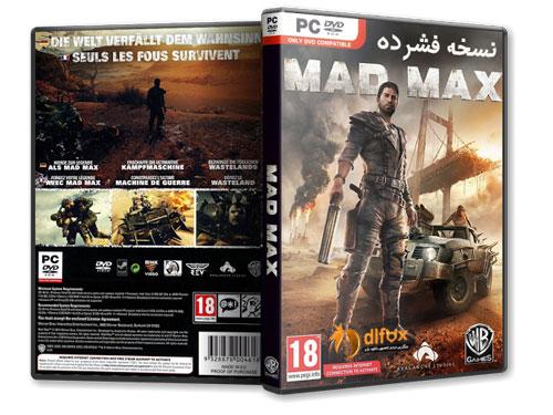 نسخه نهایی و فشرده بازی MAD MAX برای PC