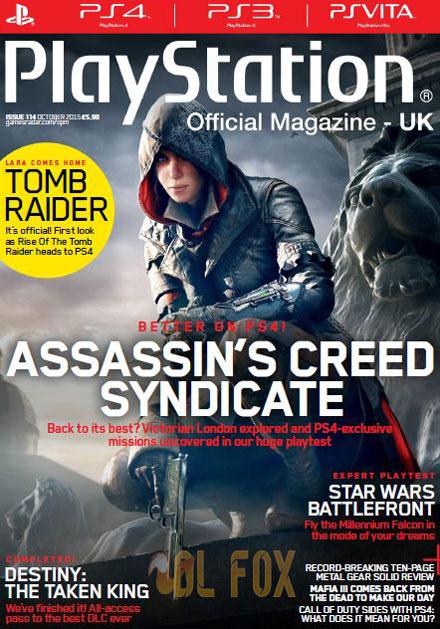 دانلود مجله PlayStation Magazine UK–October 2015