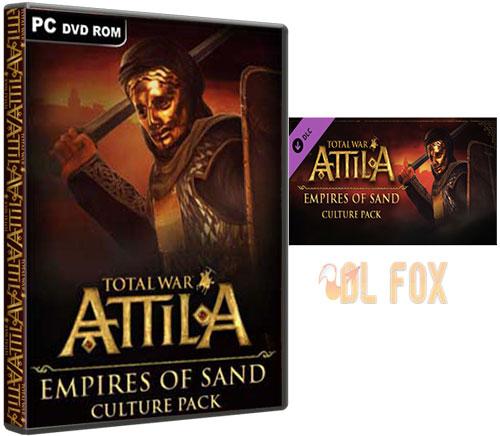 دانلود نسخه PACK DLC بازی TOTAL WAR ATTILA  برای PC