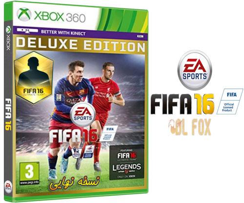 دانلود نسخه نهایی بازی FIFA 16 برای XBOX360