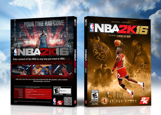 دانلود بازی NBA 2K16 Michael Jordan Preload Edition برای PC