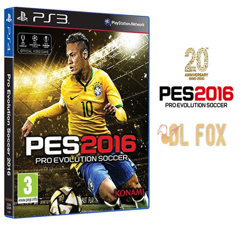 دانلود بازی PRO EVOLUTION SOCCER 2016 برای PS3