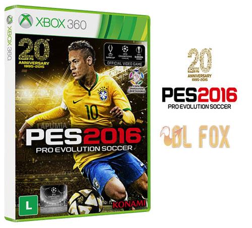 دانلود بازی PRO EVOLUTION SOCCER 2016 برای XBOX360