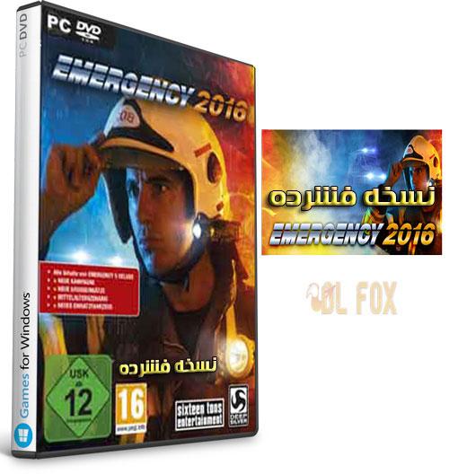 دانلود نسخه فشرده بازی EMERGENCY 2016 برای PC