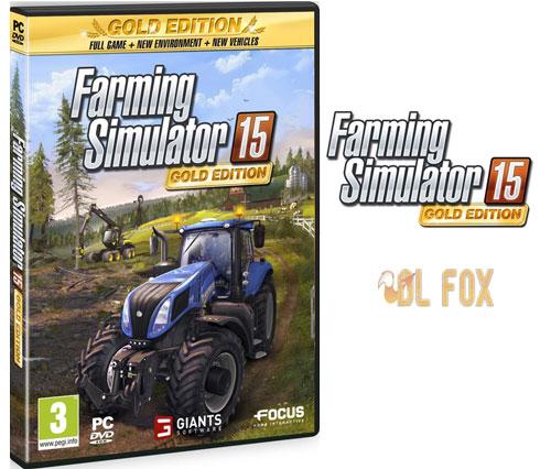 دانلود نسخه Gold Edition بازی Farming Simulator 15 برای PC