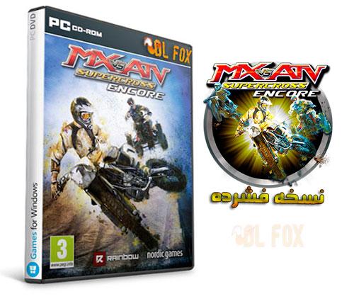 دانلود نسخه فشرده بازی MX VS ATV SUPERCROSS ENCORE برای PC