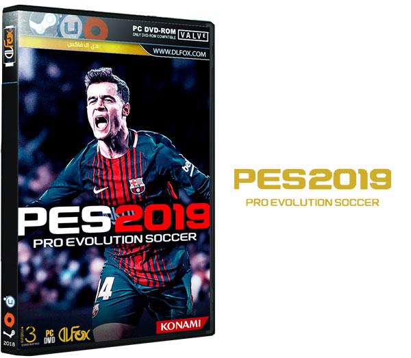دانلود نسخه فشرده بازی PRO EVOLUTION SOCCER 2019 برای PC