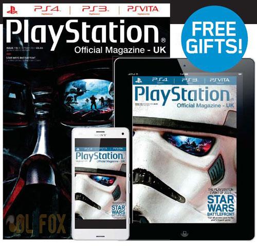 دانلود مجله PlayStation Official Magazine UK – December 2015