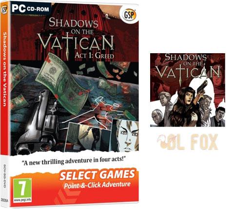 دانلود بازی SHADOWS ON THE VATICAN ACT II WRATH برای PC