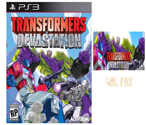 دانلود بازی Transformers Devastation برای Ps3