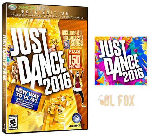 دانلود بازی Just Dance 2016 برای XBOX360