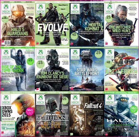 دانلود کالکشن ۲۰۱۵ مجموعه مجله Official Xbox