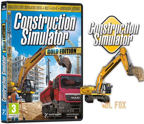 دانلود نسخه Gold Edition بازی Construction Simulator برای PC