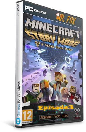 دانلود Episode 3 بازی Minecraft: Story Mode  برای PC