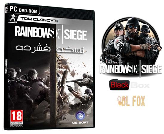 دانلود نسخه فشرده بازی Tom Clancy's Rainbow Six Siege برایPC