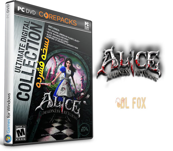 دانلود نسخه فشرده بازی Alice Madness Returns-A Complete Collection برای PC