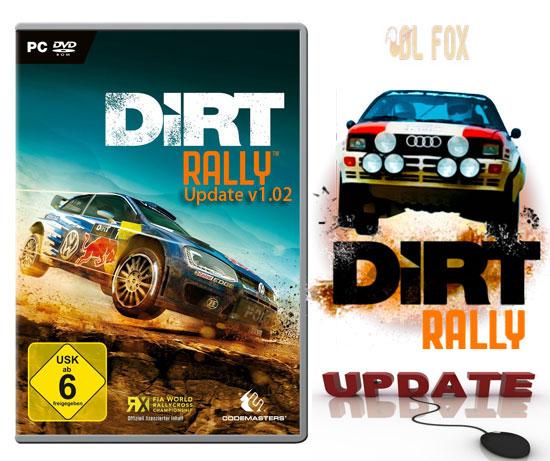 دانلود Update v1.02 بازی درت رالی DiRT Rally برای PC