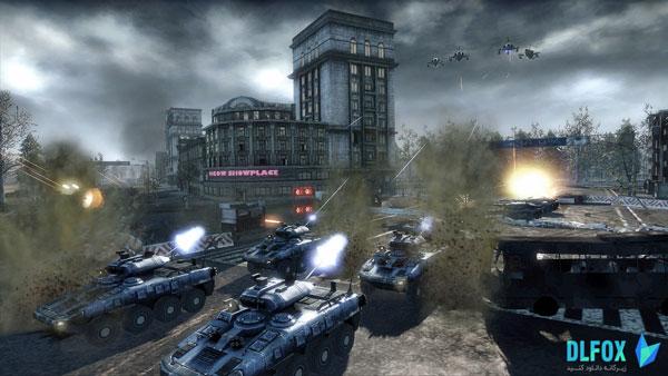 دانلود نسخه فشرده بازی Tom Clancys EndWar برای PC