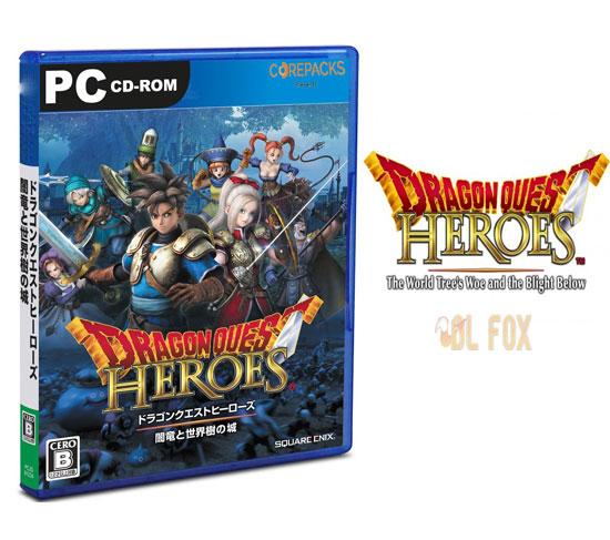 دانلود نسخه فشرده بازی DRAGON QUEST HEROES برای PC