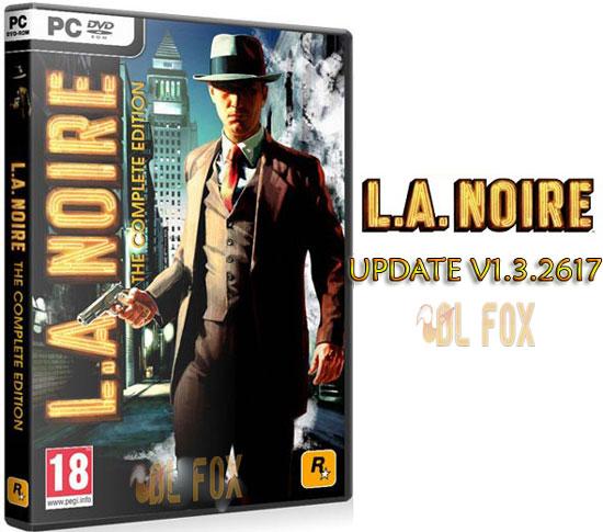 دانلود آپدیت UPDATE V1.3.2617 بازی L.A.NOIRE برای PC