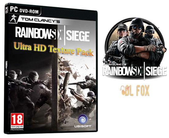 دانلود Ultra HD Texture Pack بازی Tom Clancy's Rainbow 2015 برای PC