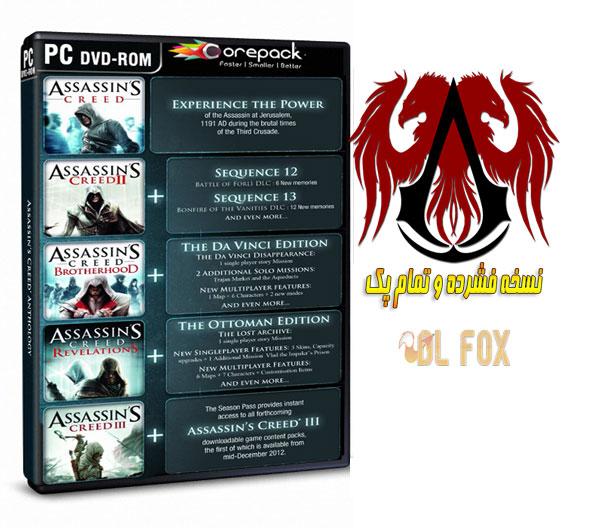 دانلود نسخه فشرده بازی Assassin's Creed Anthology برای PC