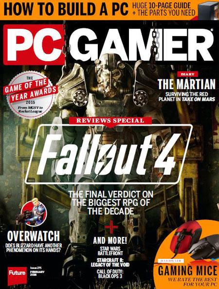 دانلود مجله PC Gamer USA – February 2016