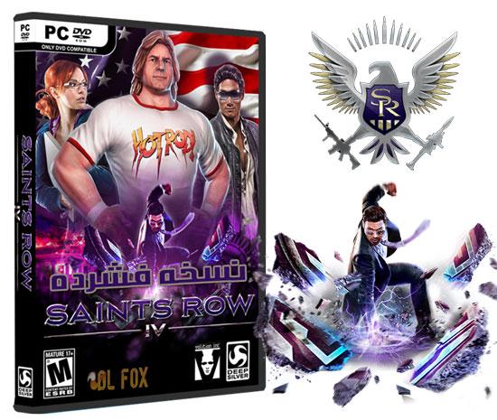 دانلود نسخه فشرده بازی SAINTS ROW IV COMMANDER IN CHIEF EDITION برای PC