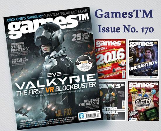 دانلود مجله GamesTM – Issue No. 170