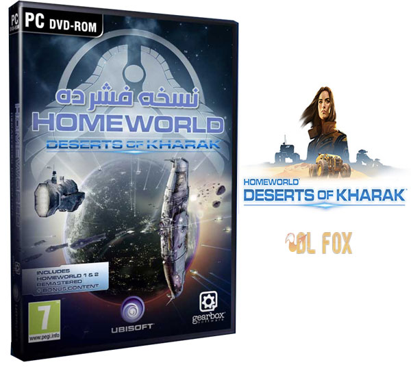 دانلود نسخه فشرده بازی Homeworld: Deserts of Kharak برای PC