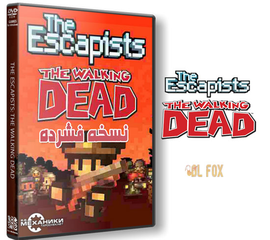 دانلود نسخه فشرده بازی The Escapists – The Walking Dead برای PC