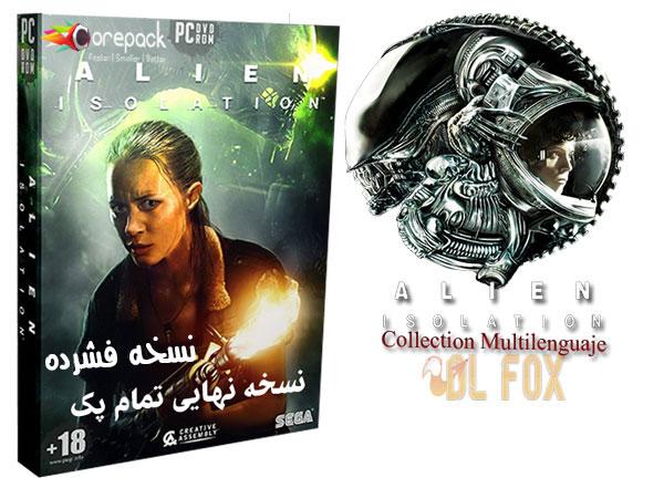 دانلود نسخه فشرده بازی Alien Isolation Collection برای pc