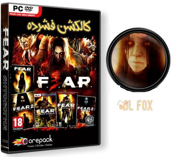 دانلود نسخه فشرده بازی F.E.A.R Anthology برای PC