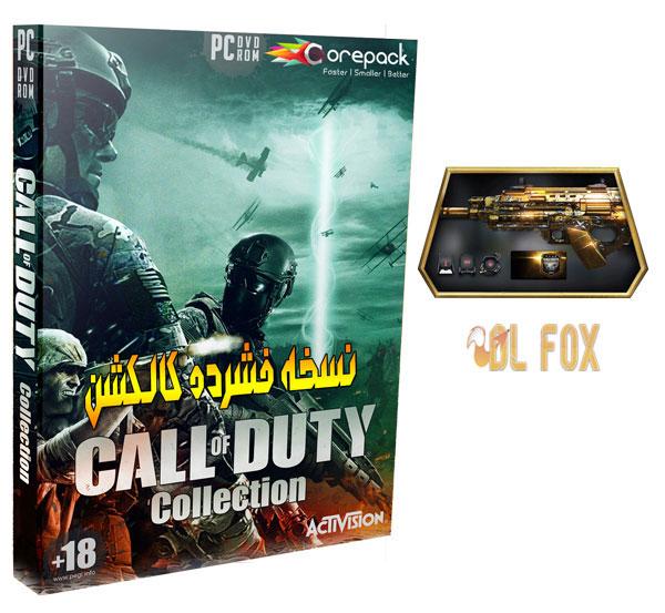 دانلود نسخه فشرده بازی Call of Duty Anthology برای PC
