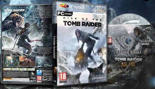 دانلود نسخه فشرده بازی Rise of the Tomb Raider برای PC