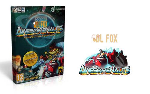 دانلود نسخه فشرده بازی Awesomenauts برای PC