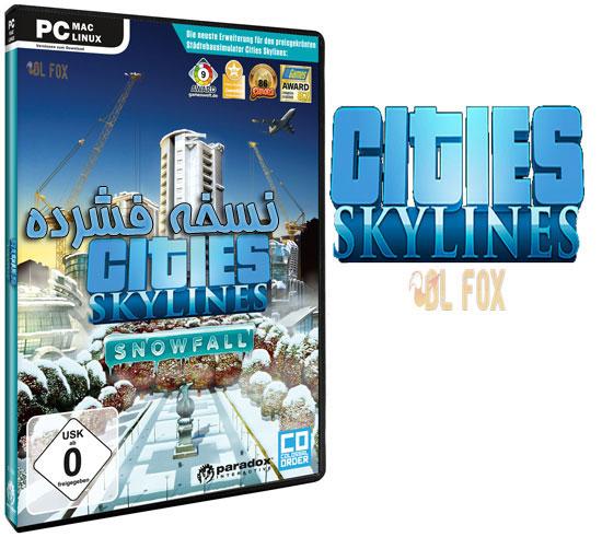 دانلود نسخه فشرده بازی Cities:Skylines-Deluxe Edition برای PC
