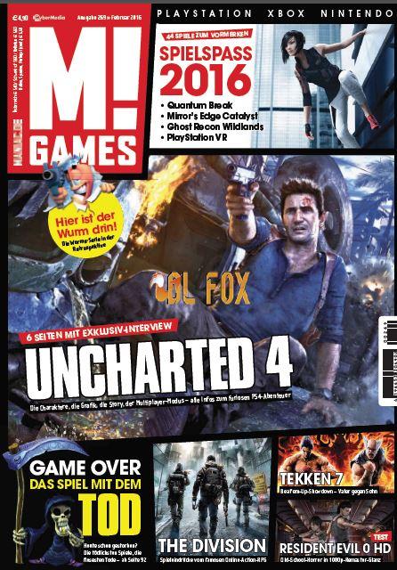 دانلود مجله M! Games Magazin Februar