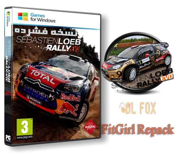 دانلود نسخه فشرده بازی Sebastien Loeb Rally EVO برای PC