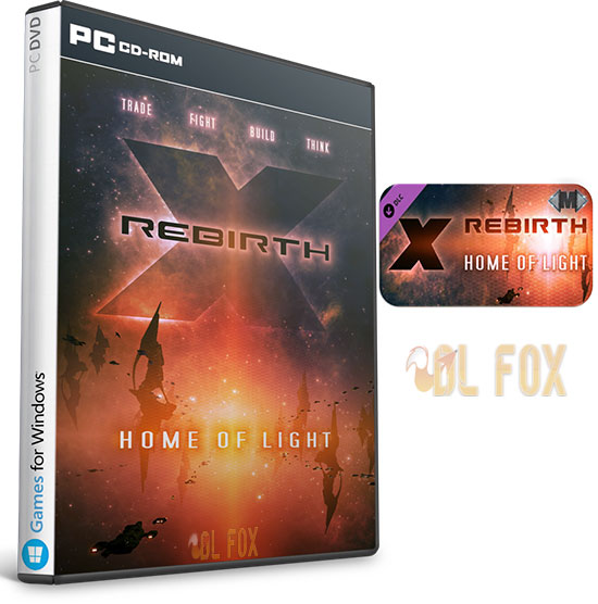 دانلود بازی X Rebirth: Home of Light برای PC