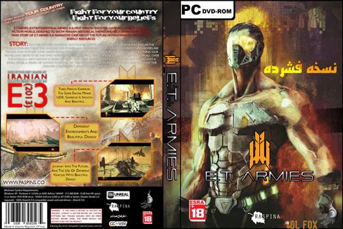دانلود نسخه فشرده بازی E.T.Armies برای PC