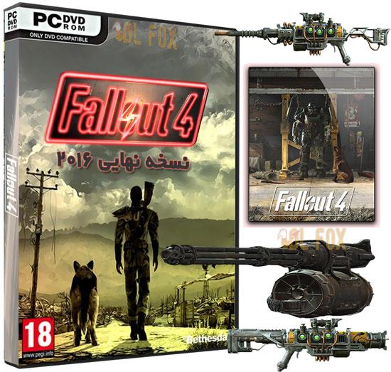 دانلود بازی FALLOUT 4 MULTI10 برای PC